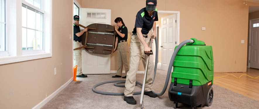 Far North Dallas, TX residential restoration cleaning